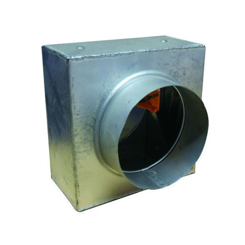 S&P Spigotted  Metal Duct Fire Damper 100mm